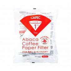 Cafec AC4-100W ABACA Filter Paper (Hemp Fiber) V60 02 100pcs