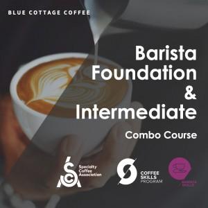 SCA CSP Barista Skills Foundation & Intermediate Combo Course